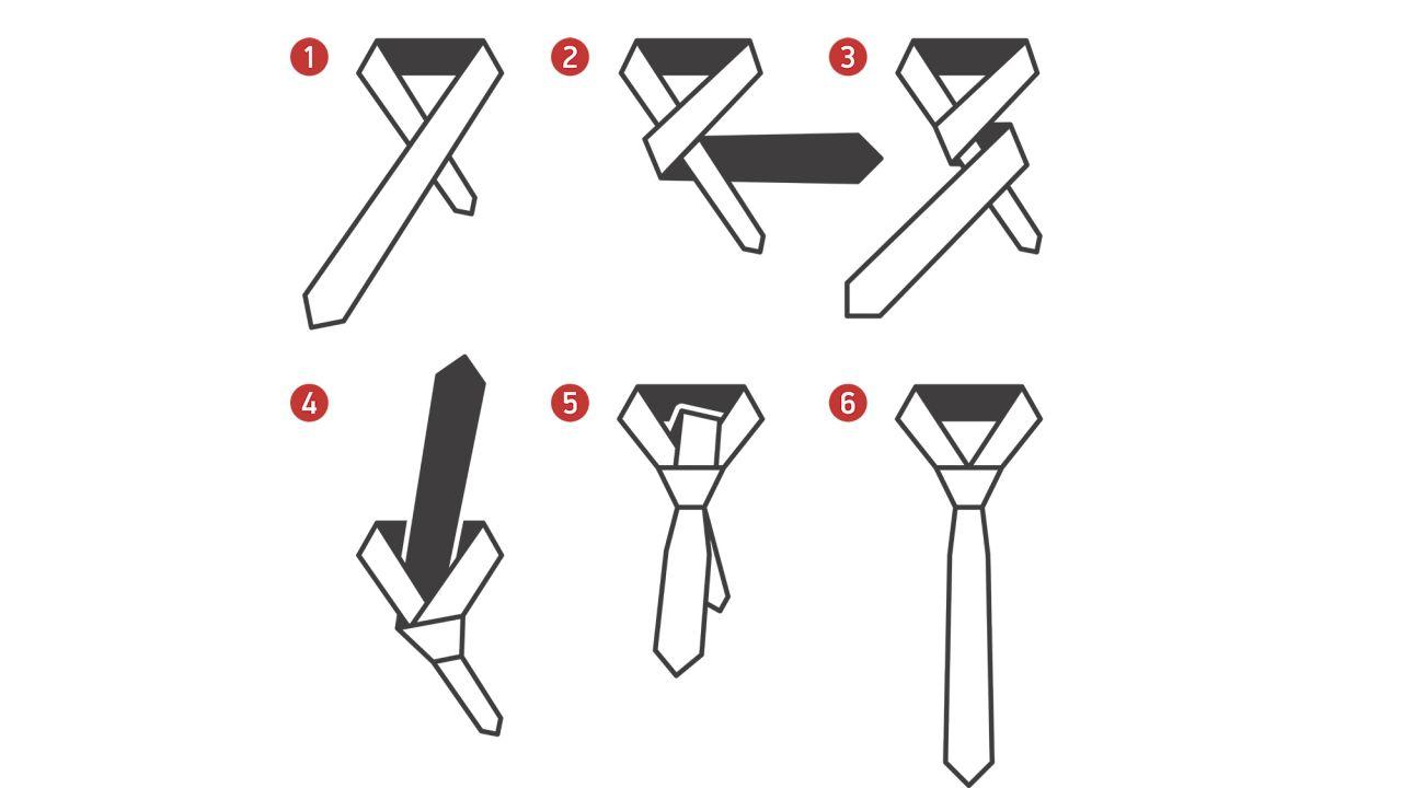 Tutorial como hacer nudo de corbata enrique lavarello for Pasos para hacer nudo de corbata
